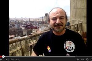 Vídeo: Llamamiento de CGT Metal