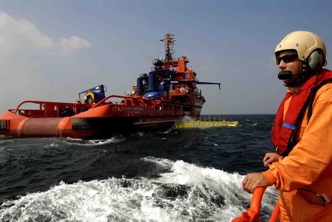 Hacienda hace peligrar al servicio público de salvamento marítimo