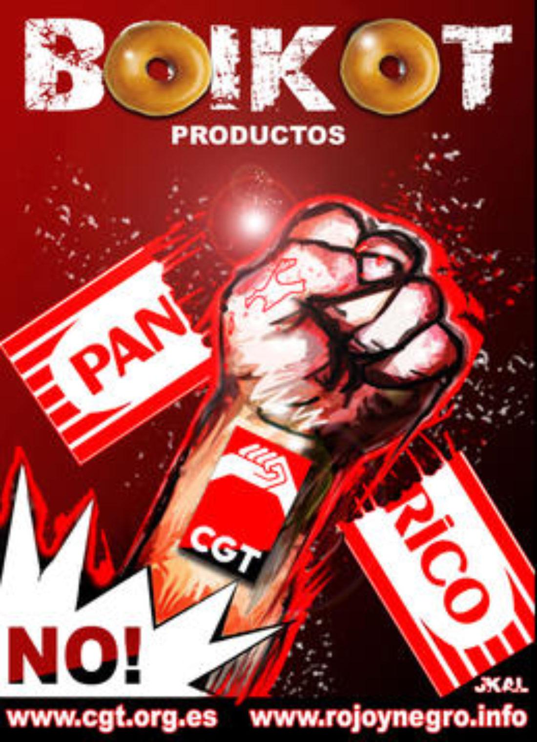 Jornadas de apoyo a Panrico. CGT pide el BOIKOT a los productos  Panrico-La Bella Easo