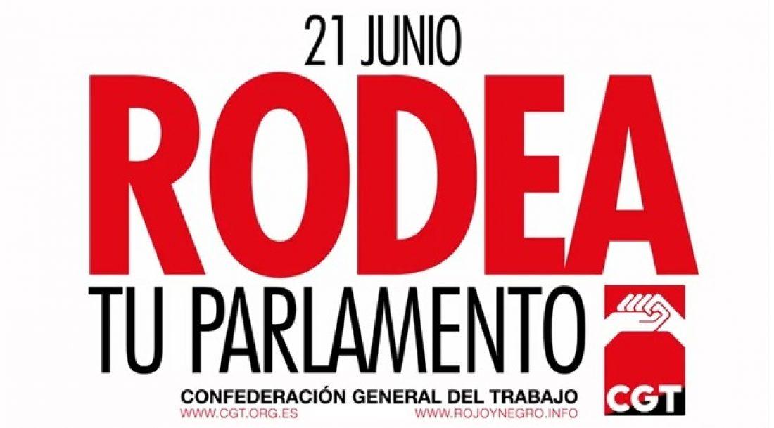 """Vídeo: El 21 de Junio """"RODEA LOS PARLAMENTOS"""""""