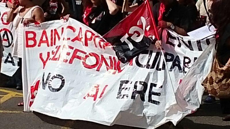 [Fotos]: Concentración en Barcelona contra el ERE de Atento - Imagen-8