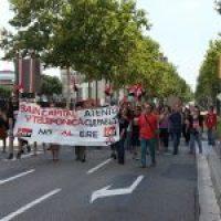 [Fotos]: Concentración en Barcelona contra el ERE de Atento