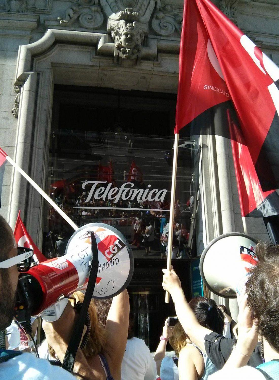 15J éxito de la huelga en Atento