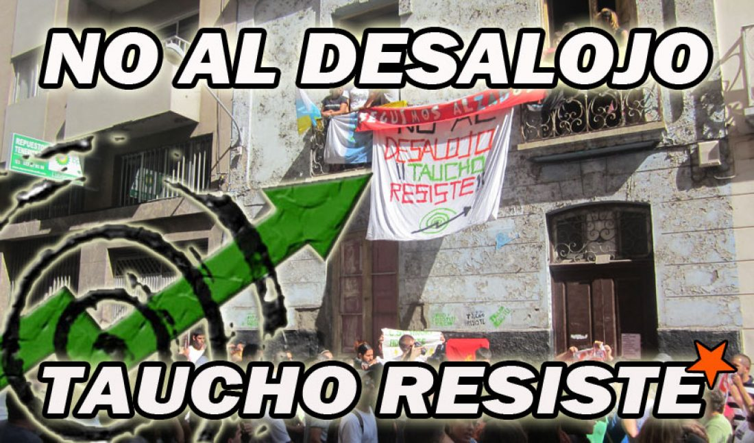 La CGT apoyará la manifestación de éste sábado contra el desalojo del CSO Taucho