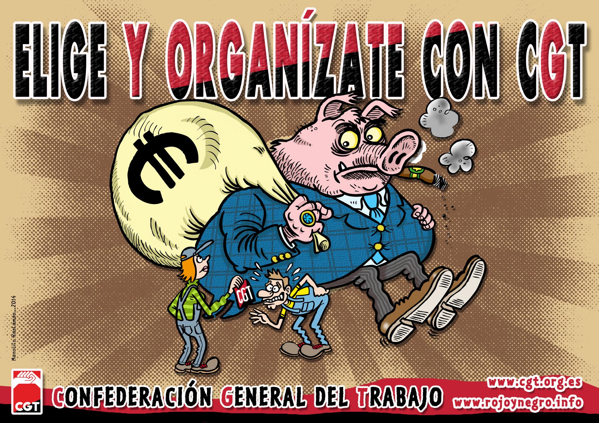 Elige y Organízate conCGT