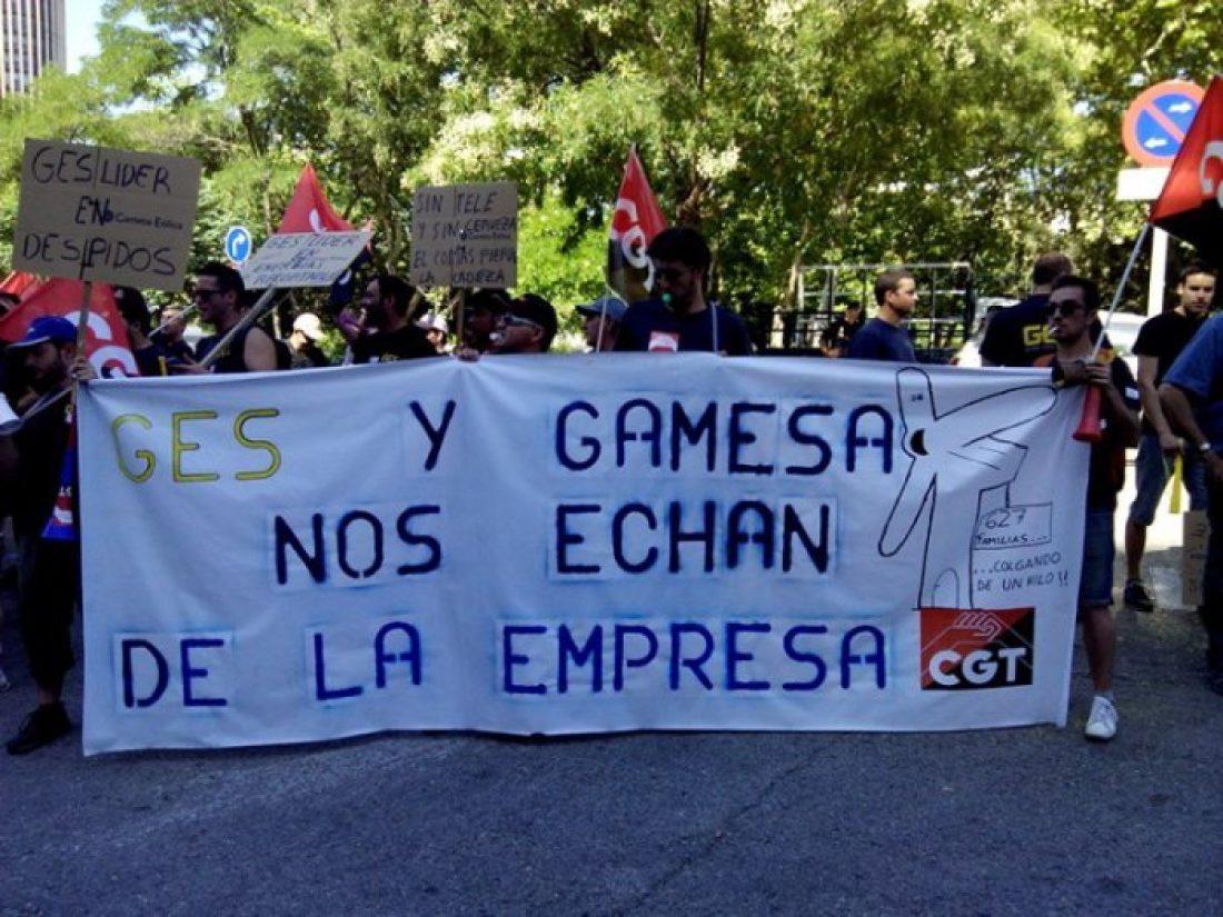 Jornada de huelga en el grupo GES