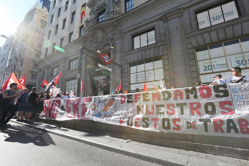 [Fotos]: Concentración en Madrid contra el ERE de Atento - Imagen-12