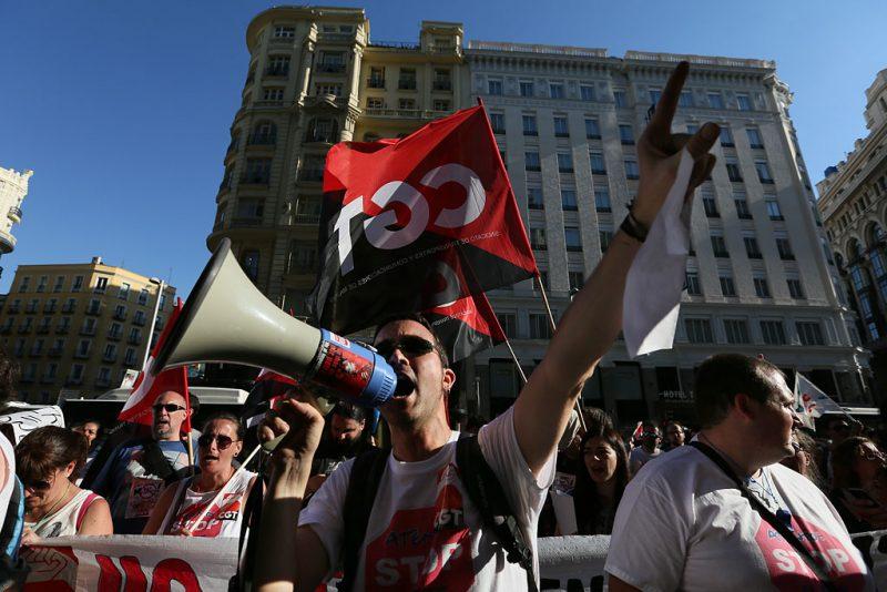 [Fotos]: Concentración en Madrid contra el ERE de Atento - Imagen-14