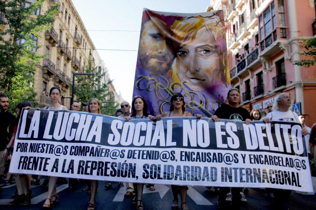 Vídeos: 28J concentraciónes contra la represión