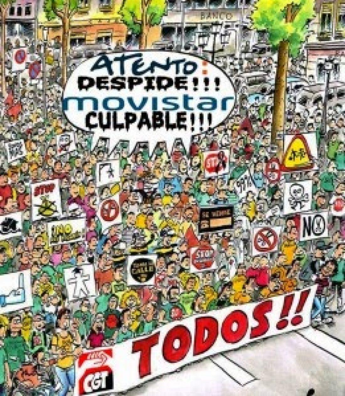 La CGT convoca Huelga de 24 horas el 15 de Julio en Atento Teleservicios España