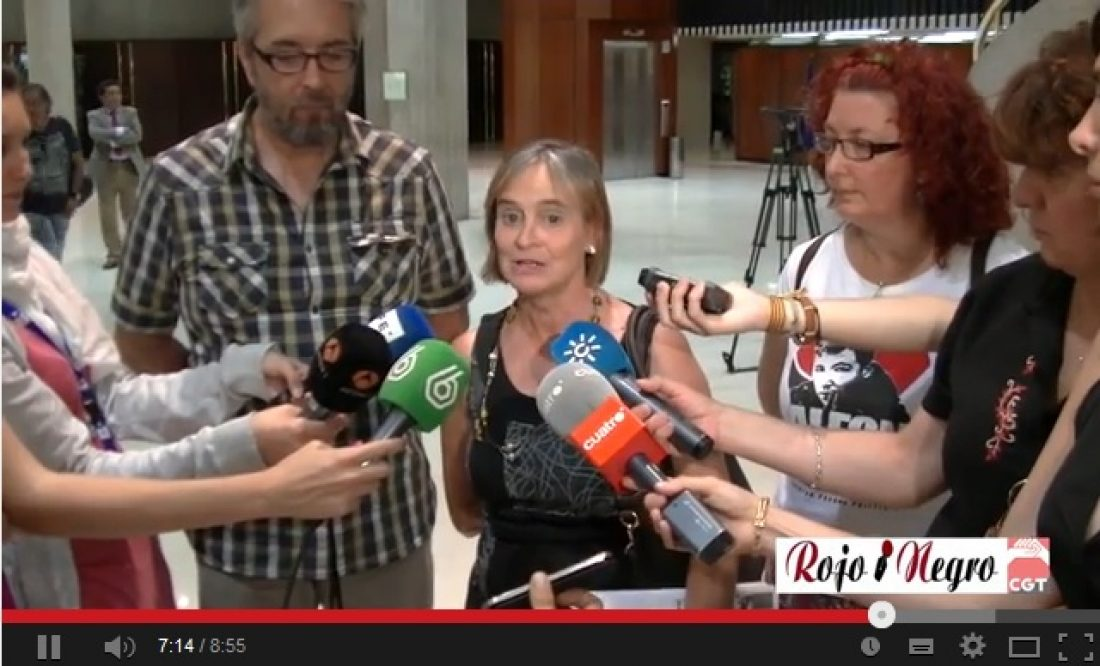 Rueda de Prensa Carmen Bajo Tribunal Constitucional