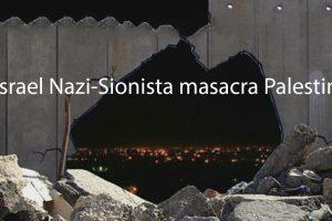 Vídeos: Israel Naci-Sionista, masacra Palestina