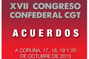 XVII Congreso Confederal A Coruña 2013