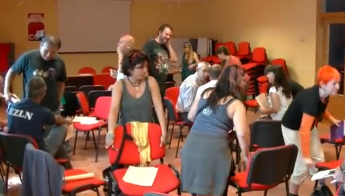 Escuela libertaria 2014: Señas de identidad y Derechos Sociales
