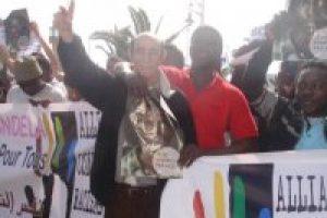CGT protesta por la represión en marruecos y la detención de Boubker Khamlichi