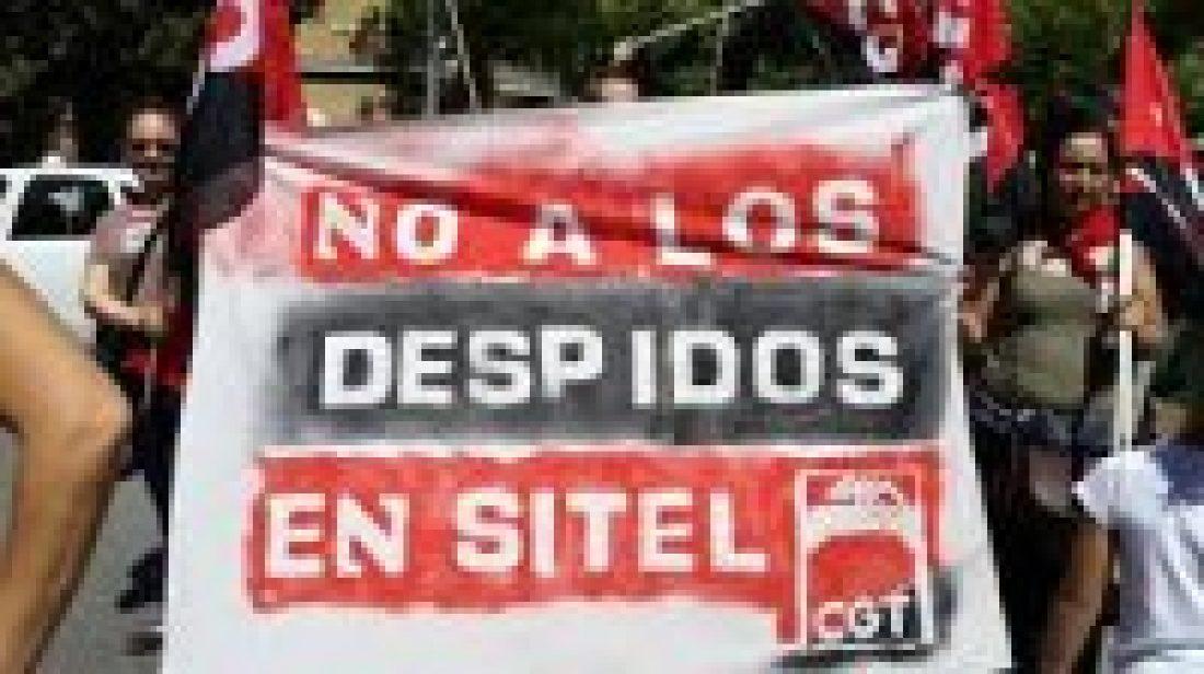CGT convoca huelga en Sitel este viernes18 de julio