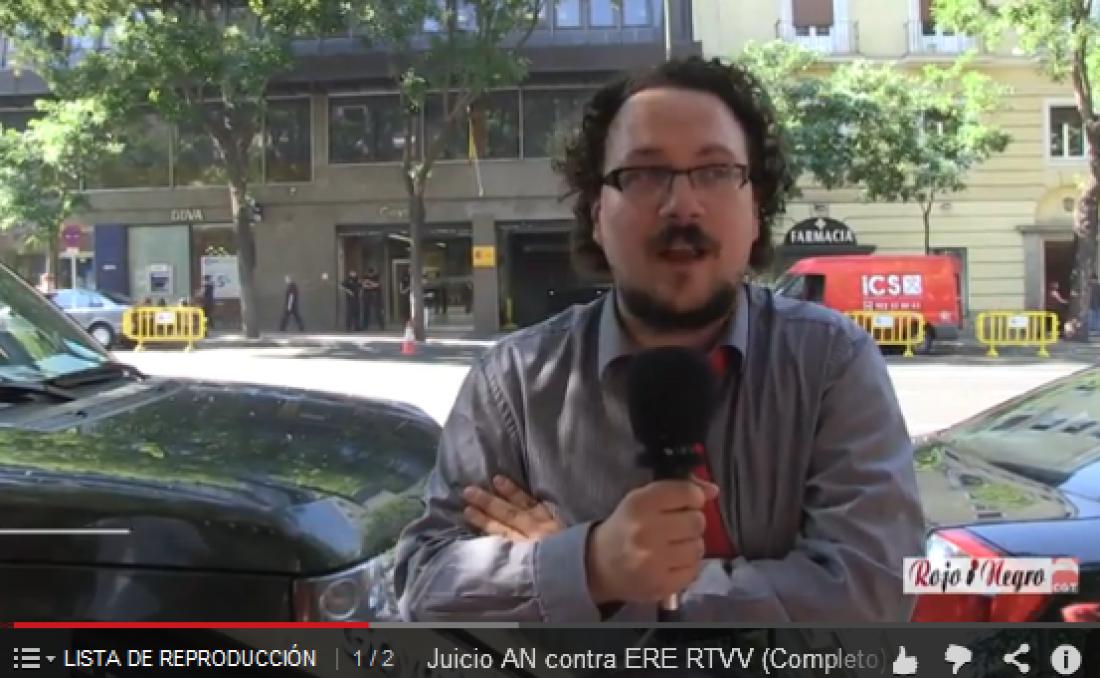 Vídeos: La Audiencia Nacional suspende el juicio de RTVV hasta que resuelva el Constitucional