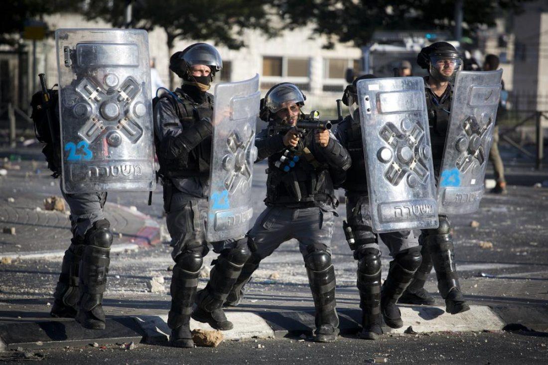 Concentración en Madrid en solidaridad con el pueblo palestino