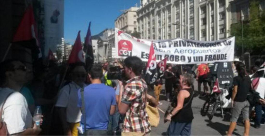 CGT Mantiene la huelga en Barajas, del 29 y 31 de agosto, contra la privatización