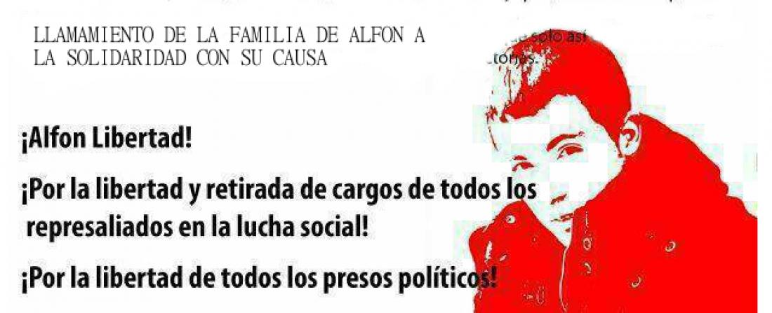 Libertad presas y presos políticos.
