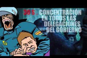 Vídeo: Basta de Represión 30S