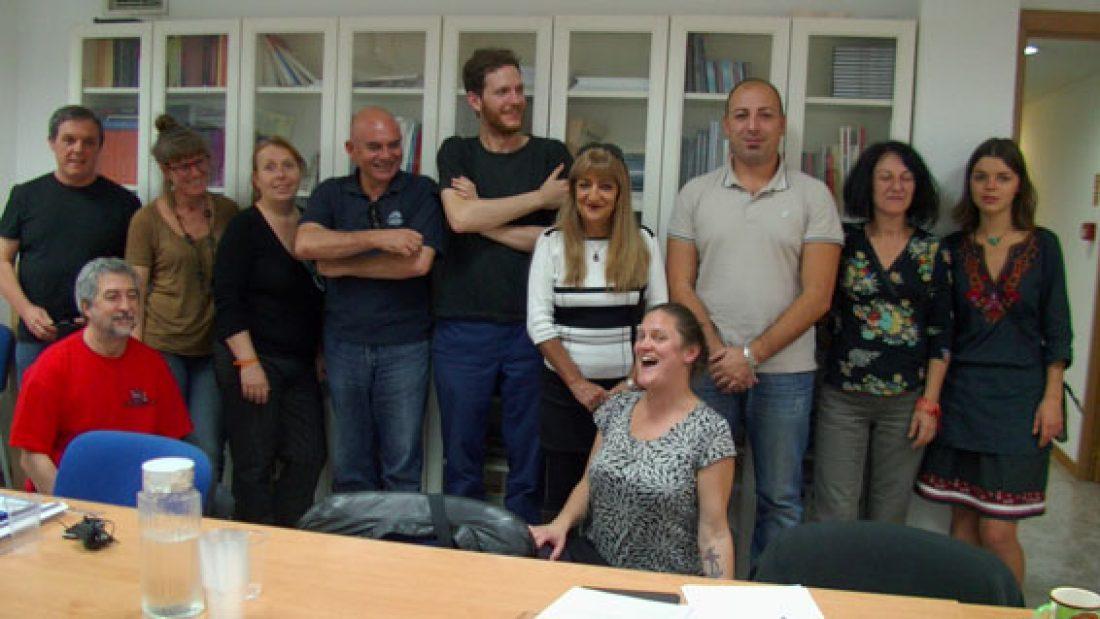 [Fotos] Encuentro de la Coordinadora Rojinegra en Madrid