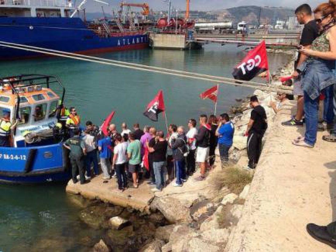 Solidaridad urgente con las y los trabajadores de TEPSA Barcelona. 32 días de huelga indefinida.