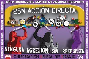 CGT llama a participar en el Día Internacional Contra la Violencia Machista