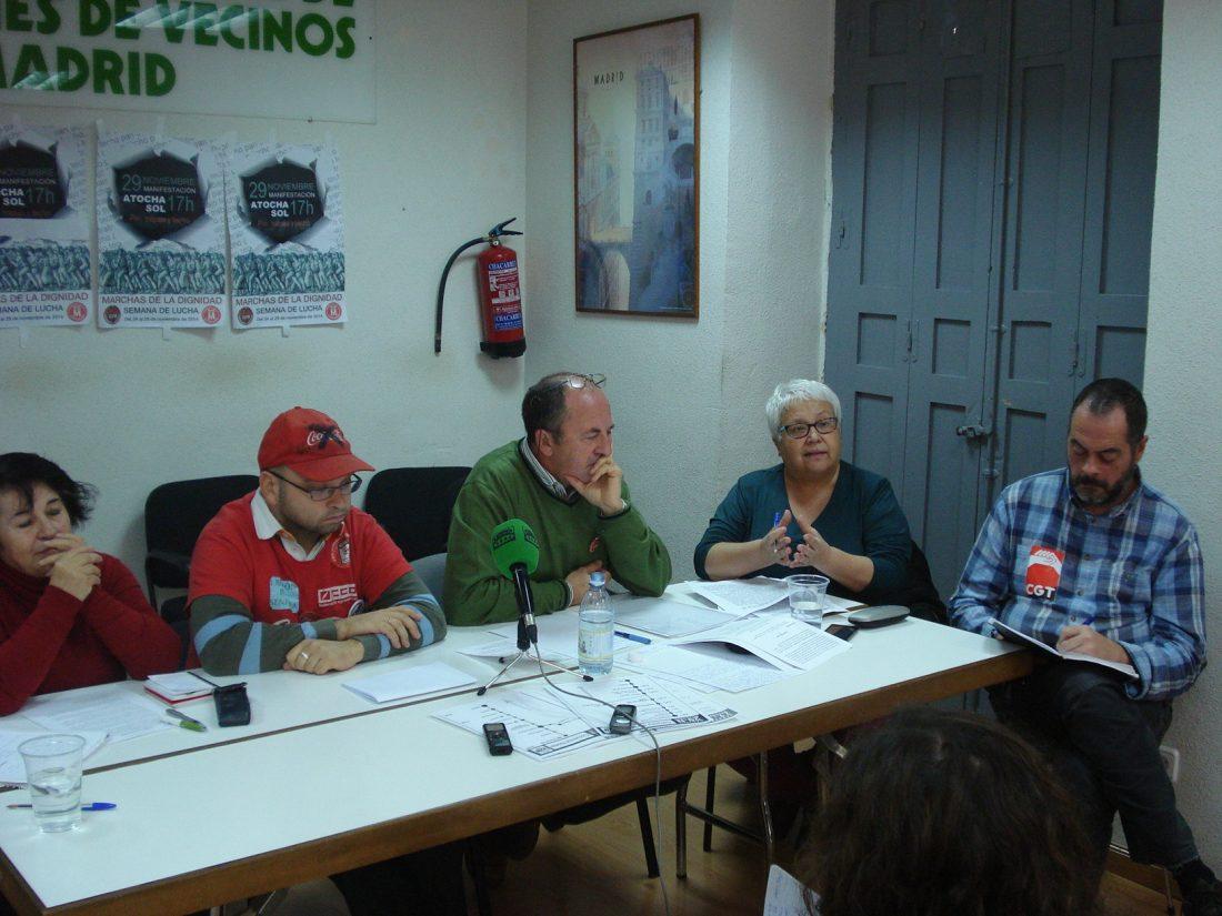 Las Marchas 22M de Madrid se movilizan el próximo 29 de noviembre