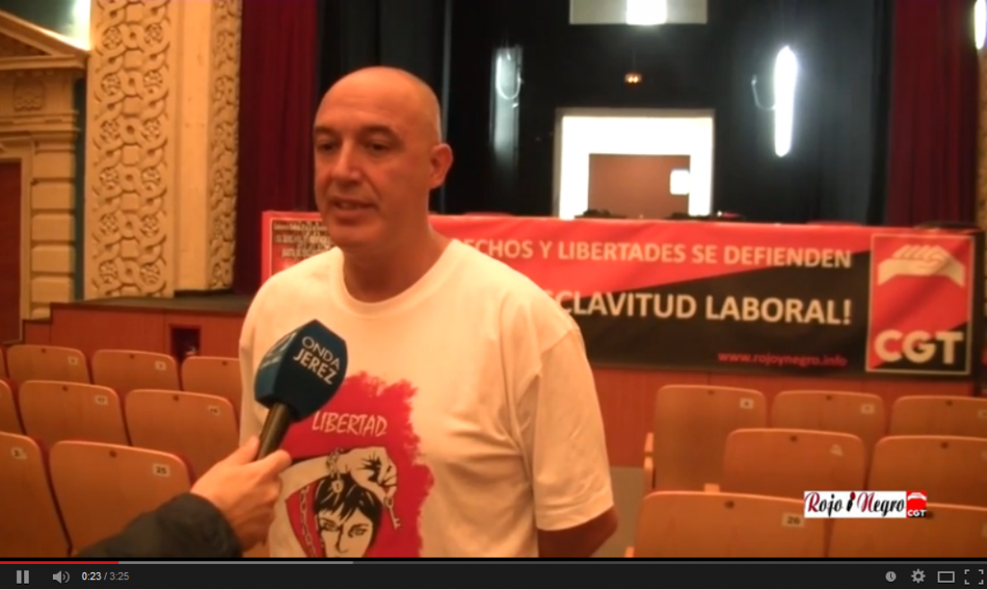 Vídeo: Rueda de prensa Conferencia Sindical Jerez 2014