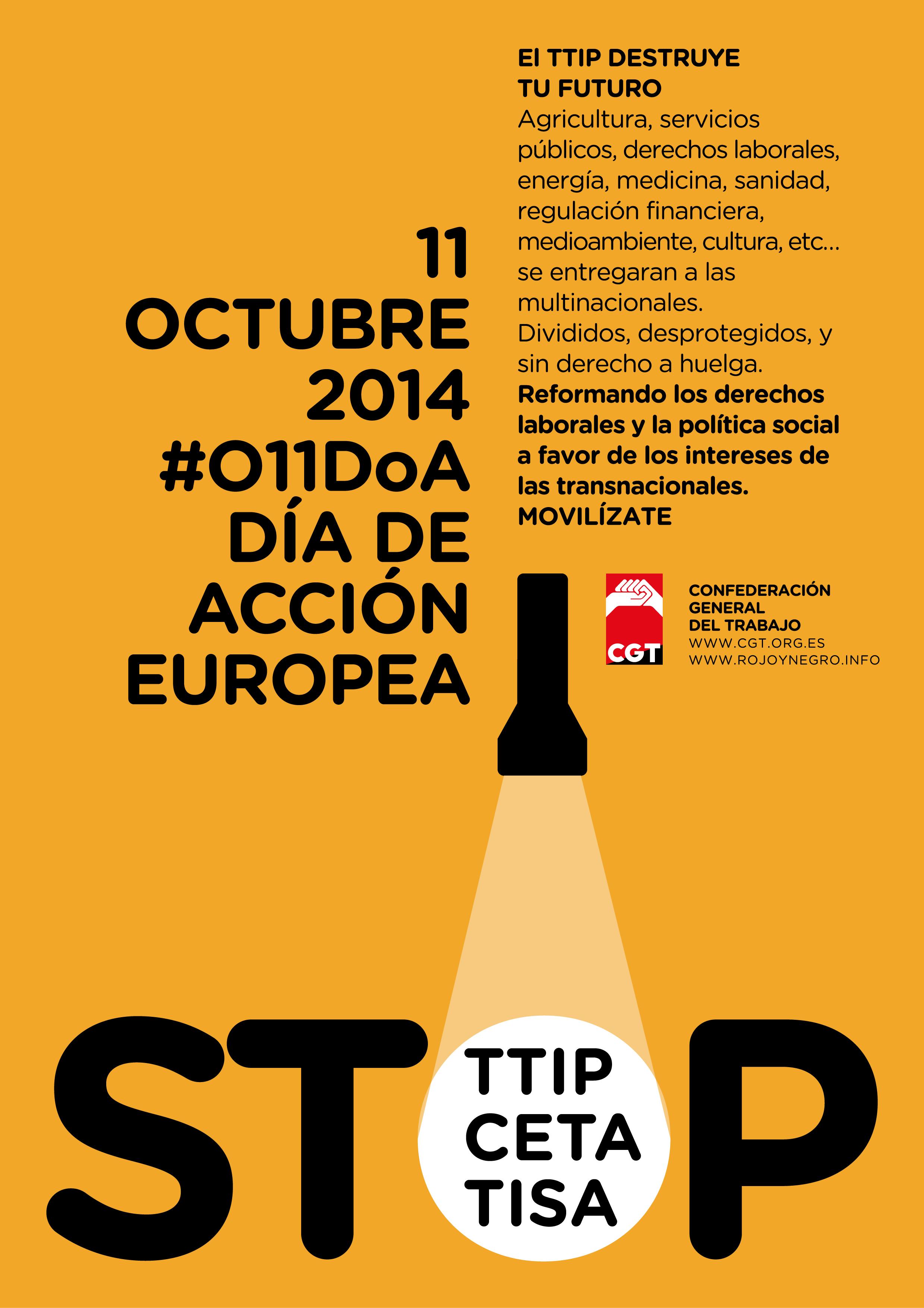 Firma contra el TTIP