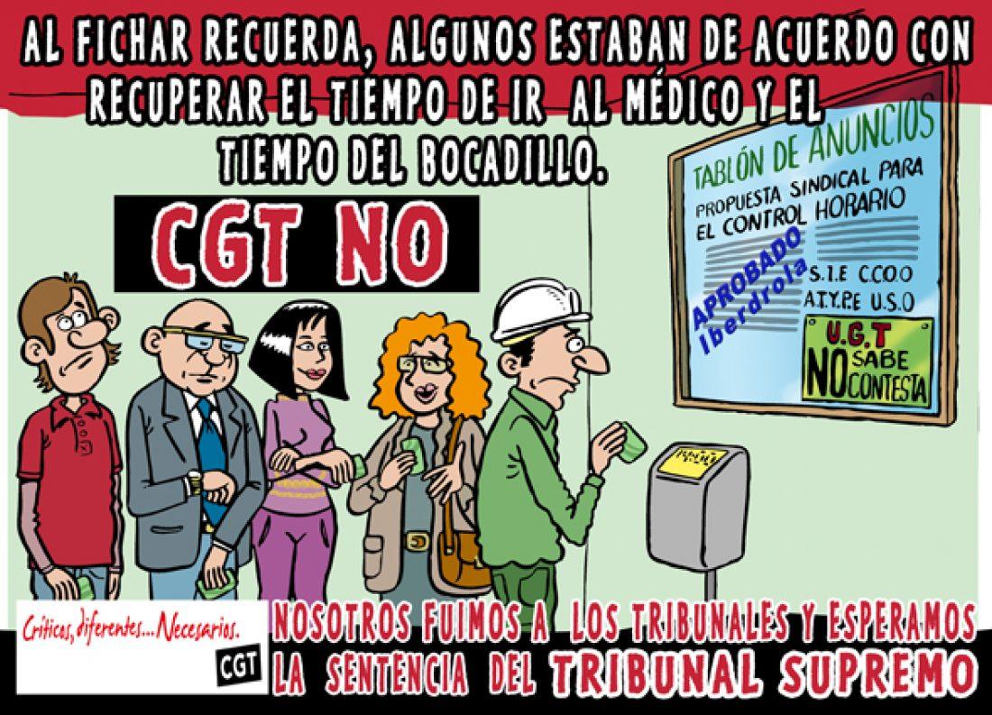 Manolito Rastamán, encargado del diseño gráfico de la propaganda electoral de la Sección Sindical de CGT en Iberdrola
