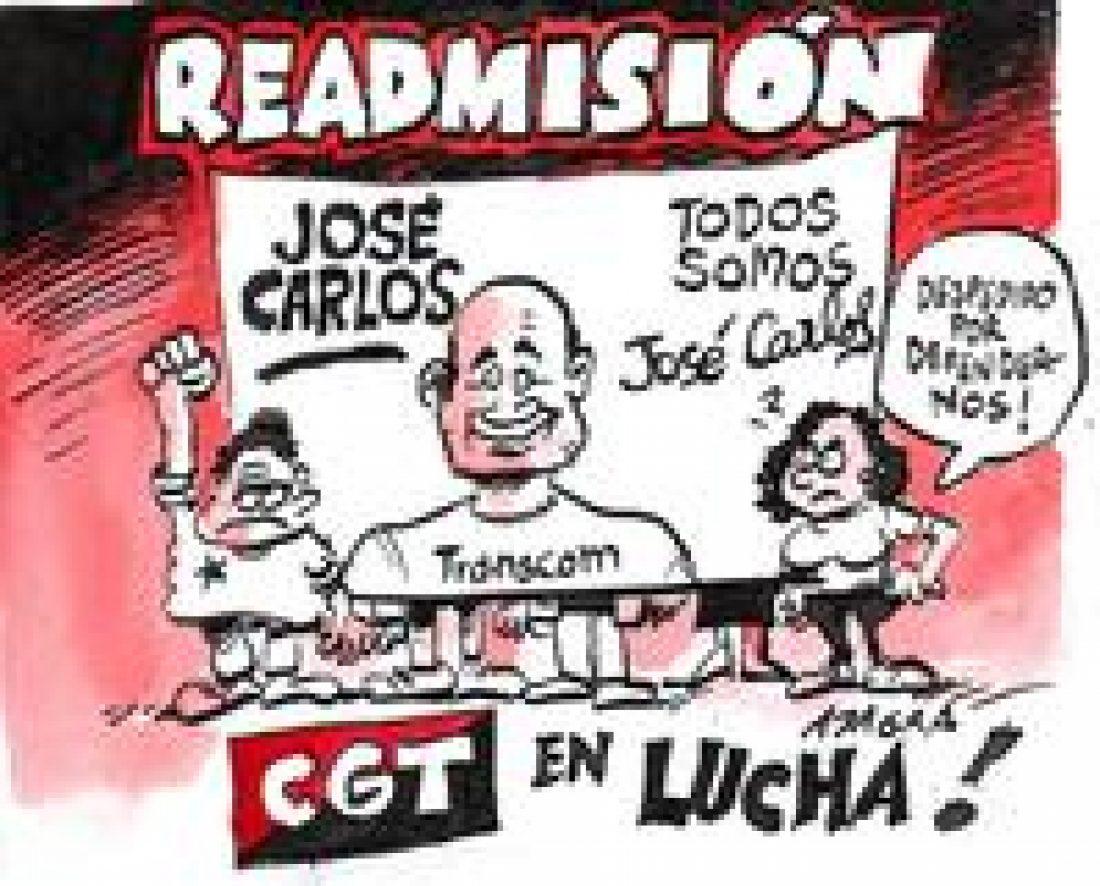 José Carlos readmitido