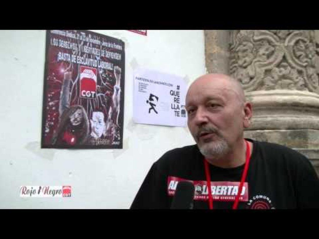 Entrevistas Conferencia Sindical de CGT, Jerez 2014