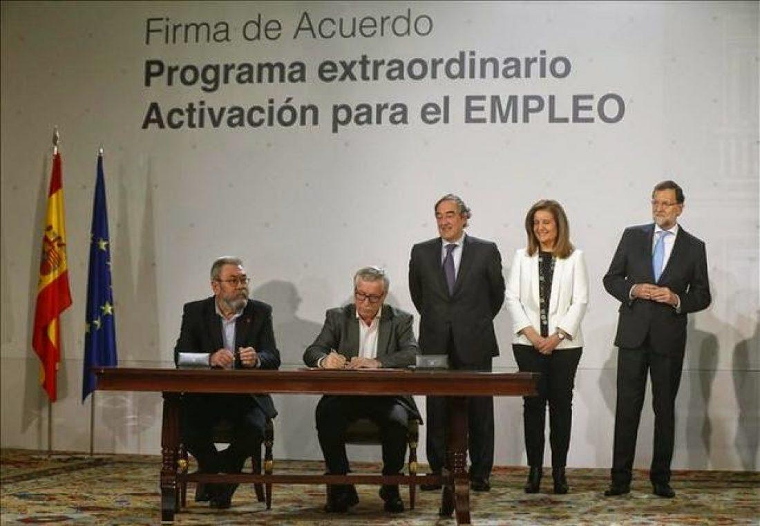 Gobierno del PP, Patronal: CEOE -CEPIME y CC.OO-UGT…La foto de la ignominia