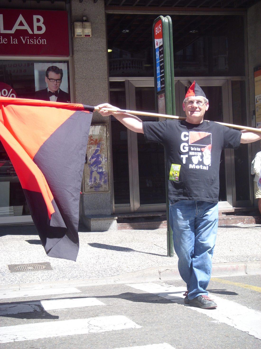 Muerte de un compañero anarcosindicalista, Adolfo