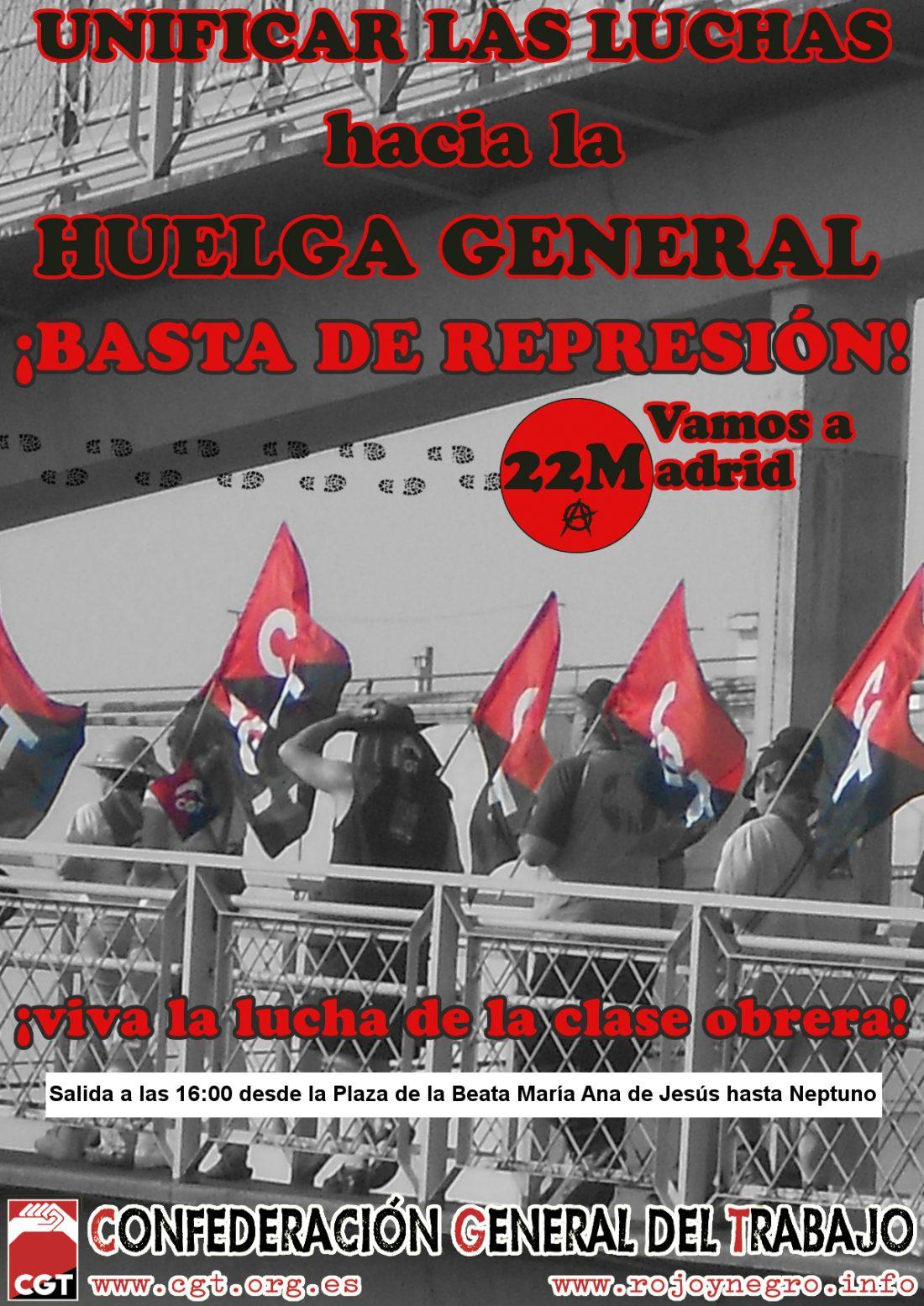 Unificar las luchas hacia la huelga general
