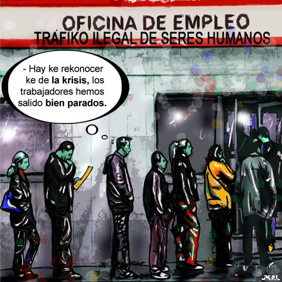 Servicios Públicos de (des)empleo: paro, precariedad, caída de prestaciones y la Seguridad Social descapitalizándose a marchas forzadas