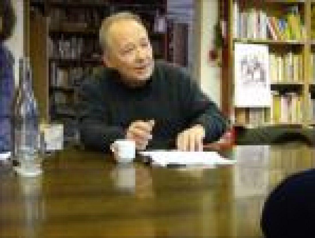 Intervención de Tomás Ibáñez en un debate realizado en CGT-Enseñanza Barcelona