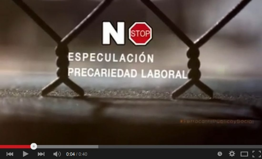 Vídeo: CGT EN VíA LIBRE
