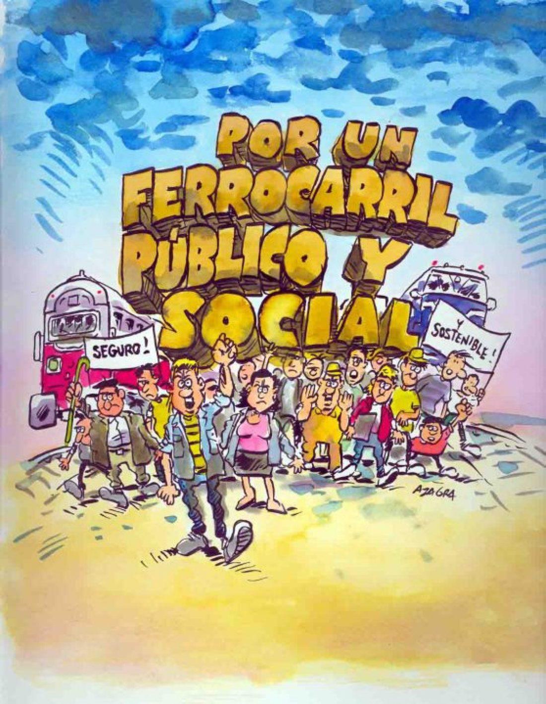 SFF Madrid CGT participa en una charla-debate sobree la prvatización del ferrocarril