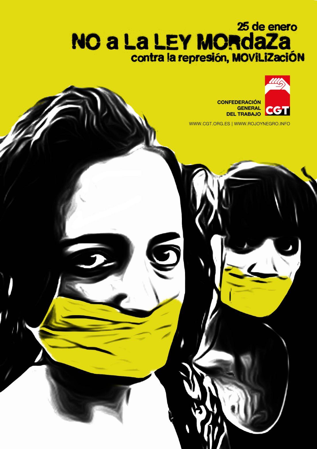 25E Movilízate contra la Ley Mordaza
