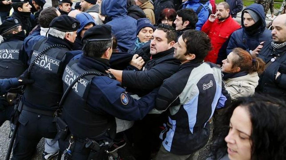 Comunicado de apoyo a las compañeras detenidas en Coia (Vigo)