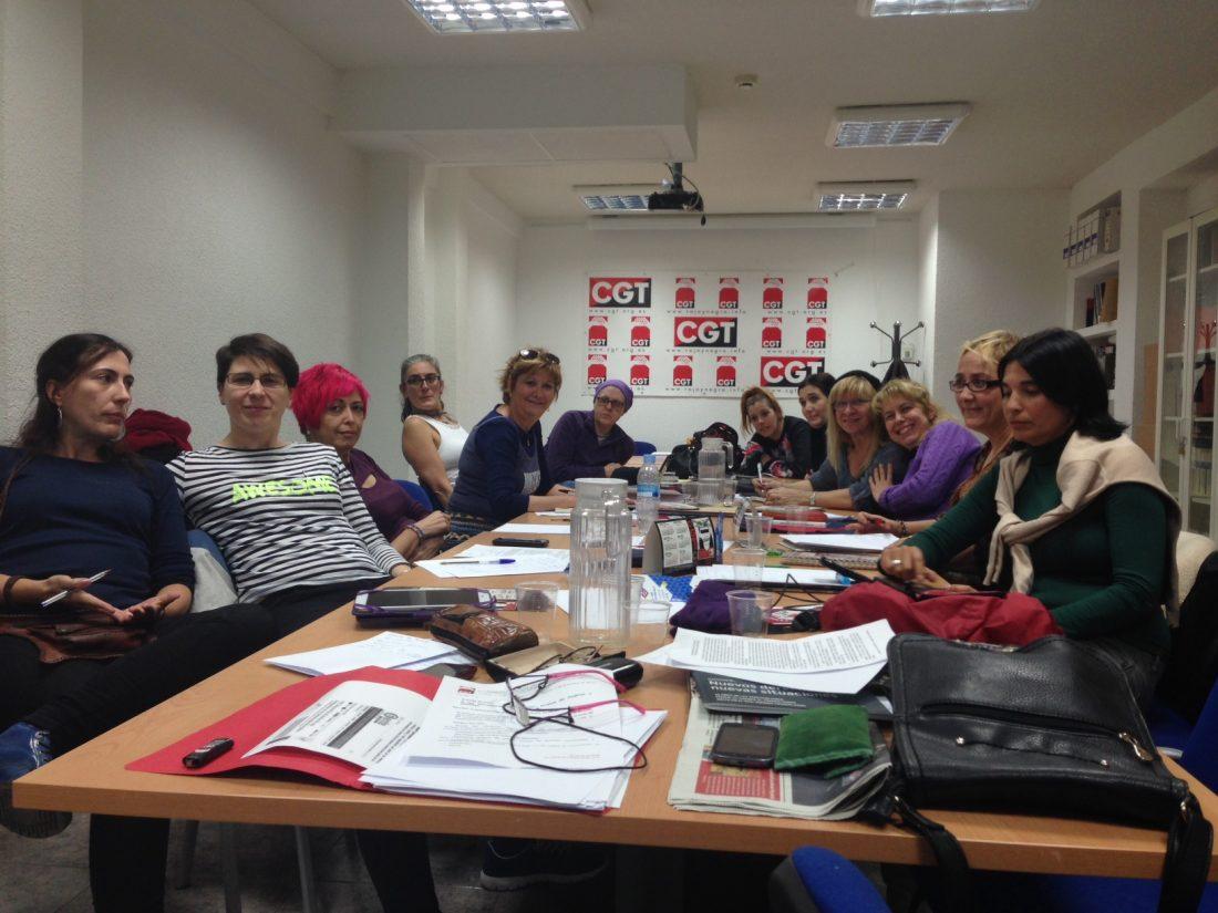 Informe sobre el Encuentro Estatal de Mujeres de CGT enero 2015