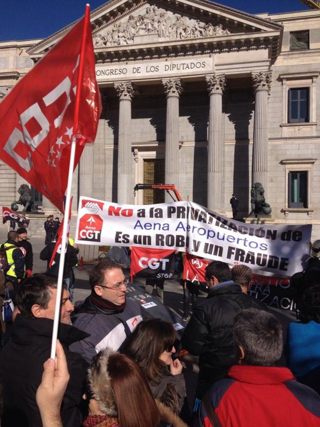 Paremos la Privatización de AENA