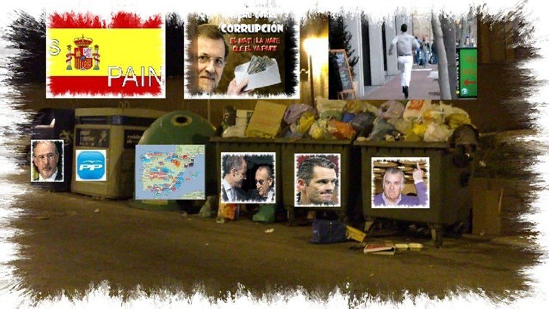 """""""La recuperación de la que habla Rajoy es cierta.  Los ricos, los banqueros y las grandes corporaciones,  se han puesto morados con los millones de euros robados  de las arcas públicas"""""""