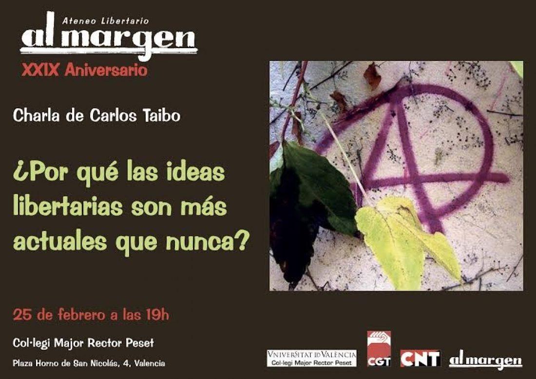 El Ateneo Libertario Al Margen celebra su XXIX aniversario con unas Jornadas Culturales