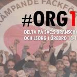 Invitación a Encuentro Sindical de SAC (Suecia) en Abril