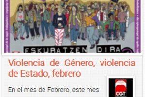 Violencia de Género, violencia de Estado, febrero