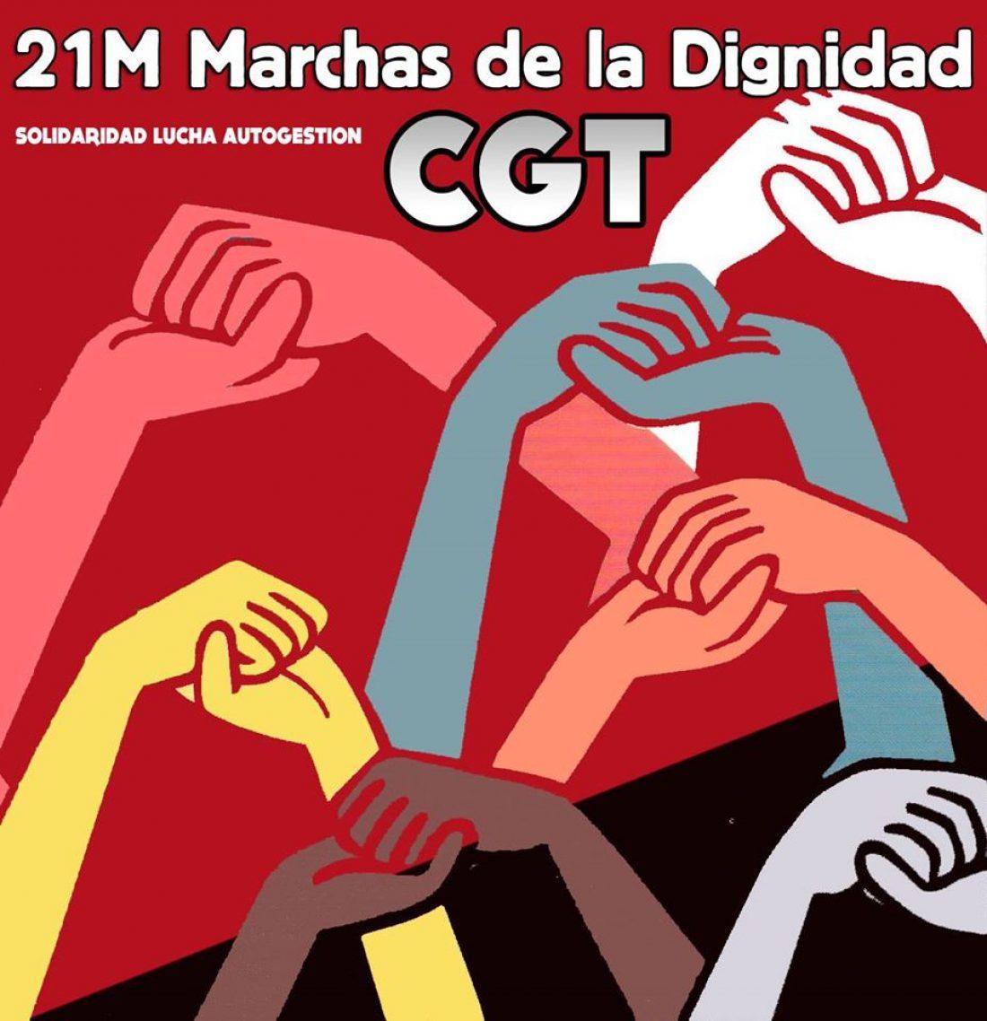 Las Marchas por la Dignidad estarán de regreso en Madrid el 21 de marzo para exigir Pan, Trabajo, Vivienda y Dignidad